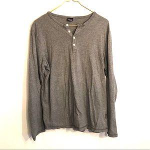 [Patagonia] Gray Long Sleeve Shirt - Size Medium